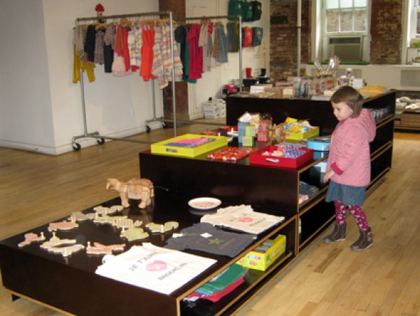Cute toys and clothes at Pomme
