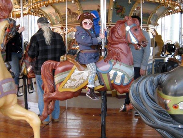 Enjoying Jane's Carousel