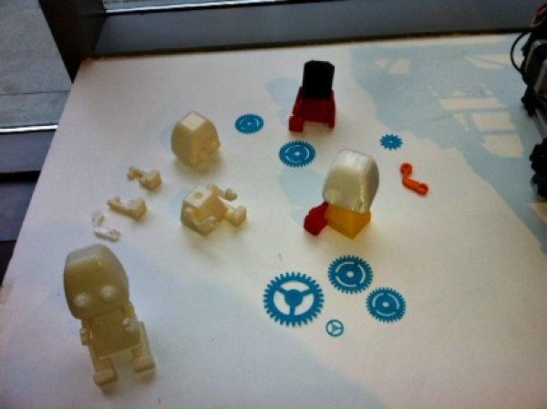 Knickknacks created via 3D printer