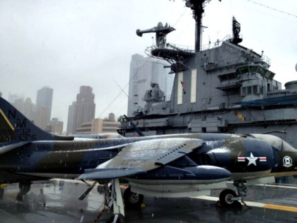 Explore a real aircraft carrier and space shuttle at the Intrepid Sea, Air & Space Museum