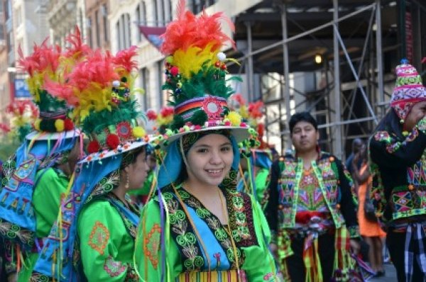 The annual Dance Parade showcases moves from lots of different cultures