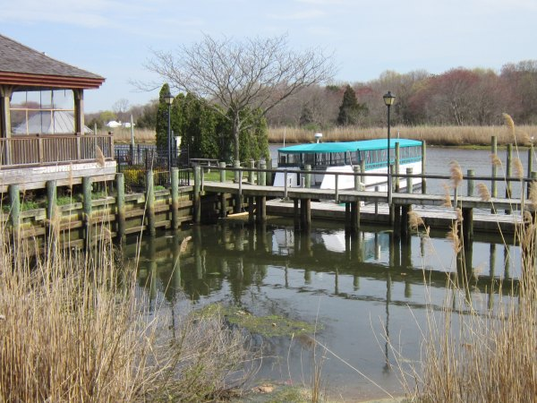 View of the beautiful Peconic River
