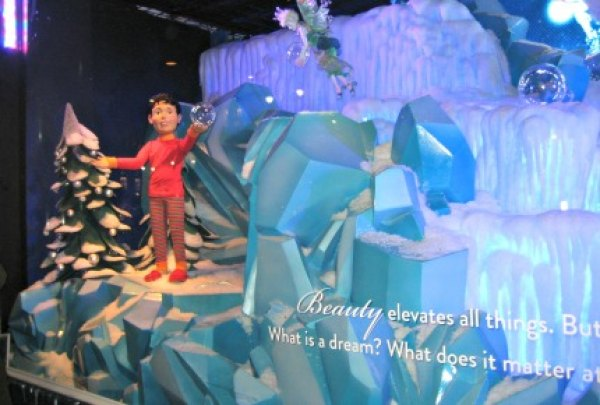 As he dreams, you see the beauty of Christmas through the eyes of a child at Macy's
