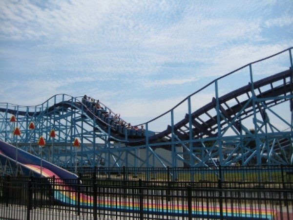 The Kingdom Coaster at Dutch Wonderland