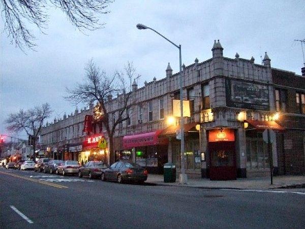 Metropolitan Avenue has cozy old-fashioned restaurants
