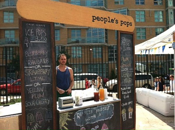 Enjoy cool treats at People's Pops at Smorgasburg