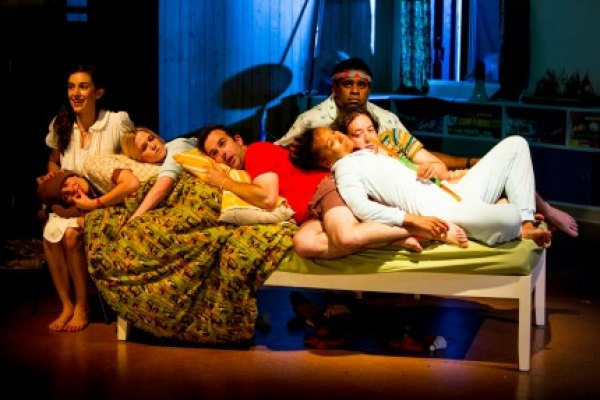 Peter Pan at the New Victory Theater; photo by Brett Boardman
