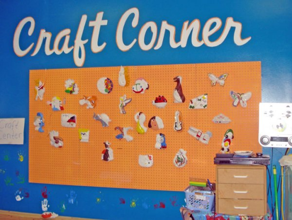 Crafts display area