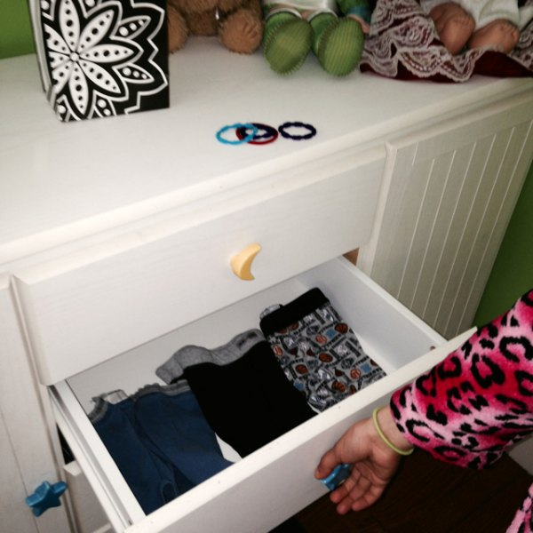 Whose drawers are these?