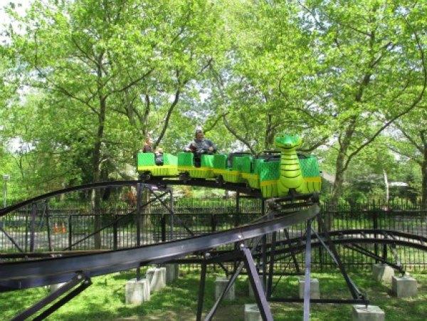 The tame snake roller coaster