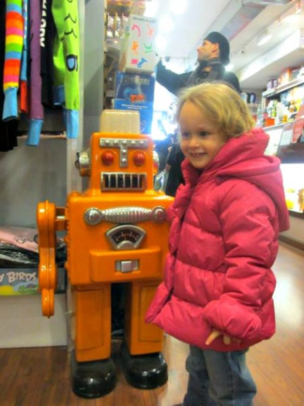 I had to drag my daughter from Toy Tokyo kicking and screaming