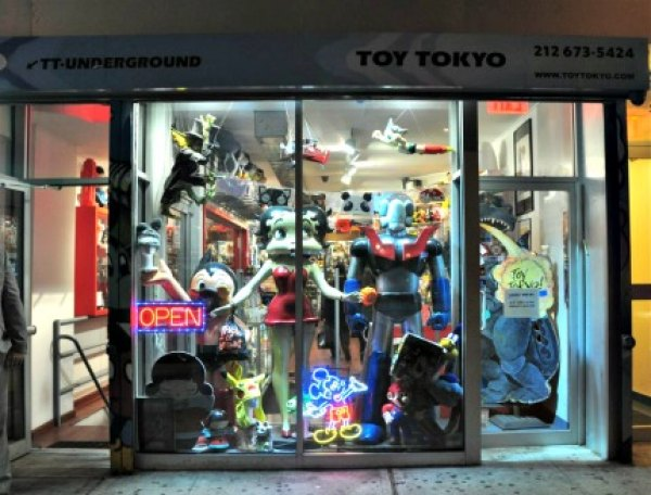 You'll find all kinds of pop-culture playthings at Toy Tokyo, especially anything anime