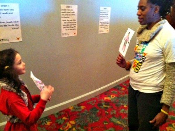 Paper alter egos meet at TXT Marks the Spot