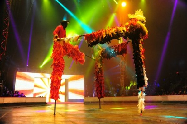 UniverSoul Circus; photo by Scott Cunningham