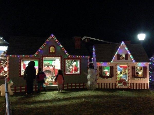 Plus Santa's worshop and Sesame Street!