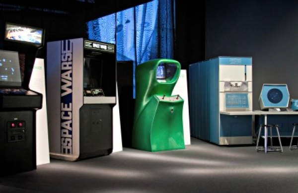 Play old-school video games at the Museum of the Moving Image's Spacewar!; photo: Sam Suddaby