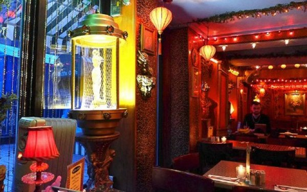 Meanwhile Yaffa Cafe has healthy eats and kitschy eye-popping decor