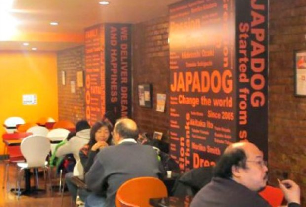 Japadog is a great lunch spot, casual and not too exotic