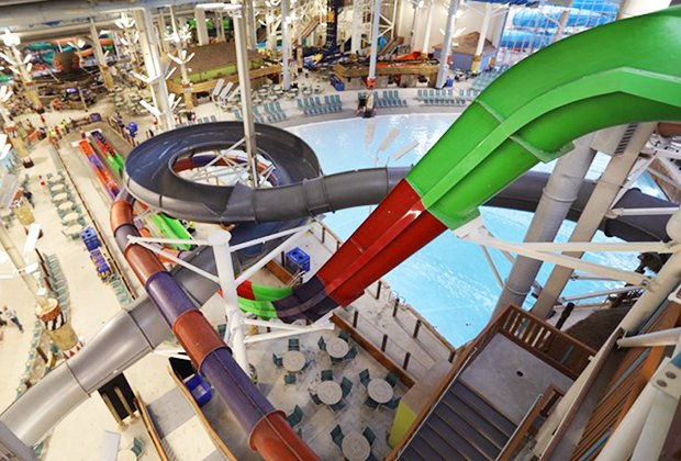 Largest Indoor Water Park In The Us Opens At Kalahari Poconos Mommy Poppins Things To Do In