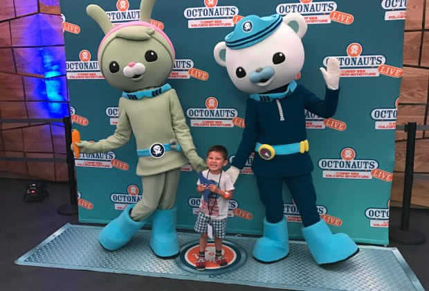 A Preschoolers' Deep-Sea Voyage with Octonauts Live!  MommyPoppins - Things to do in Boston